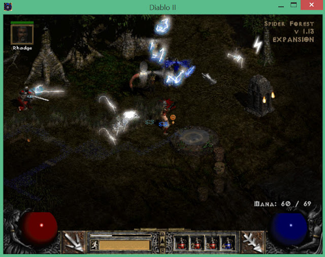 Spider Forest | Diablo 2 Screenshot