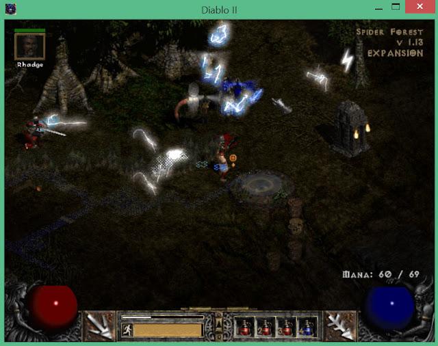 Spider Forest   Diablo 2 Screenshot