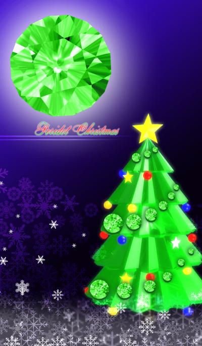 BIRTHSTONE CHRISTMAS -PERIDOT-
