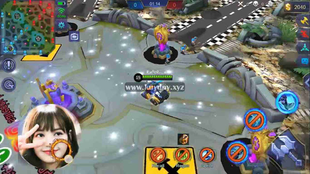 Script MOD Map Mobile Legends Tema Jalan Tol + Gurun