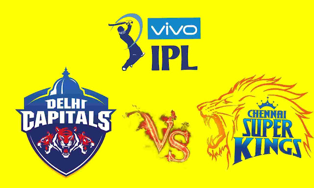 CSK VS DC Match IPL 2019