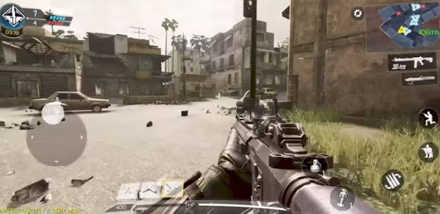 the best fps game on android phones CALL OF DUTY MOBILE