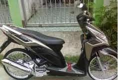 Modifikasi Motor Honda Vario Techno 125 Velg 17 Jari - Jari