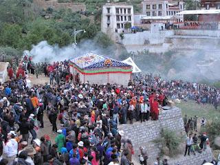 西藏雪頓節