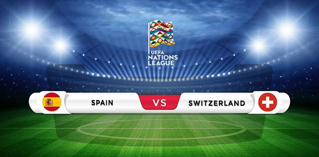 Spain predicted lineup vs Switzerland Nations League