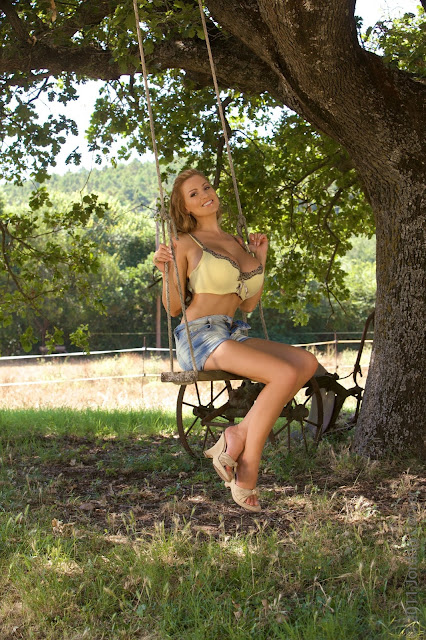 Jordan Carver Swing Photoshoot Image 6