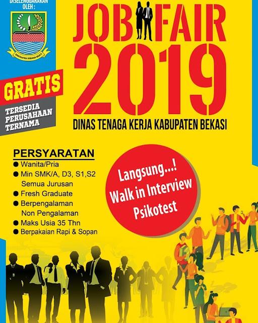 Job Fair Bekasi 2019