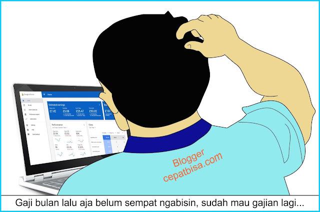 nasib blogger nanggung penghasilan pas-pasan