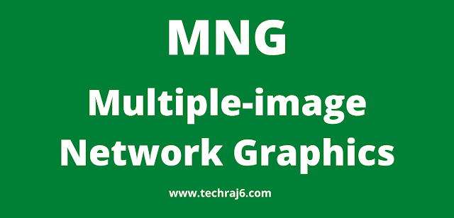 MNG full form, What is the full form of MNG