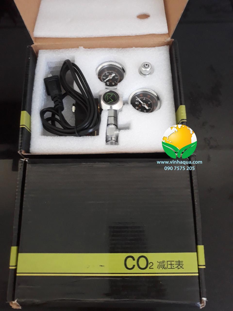 Van điện Mufan chỉnh CO2 tự động