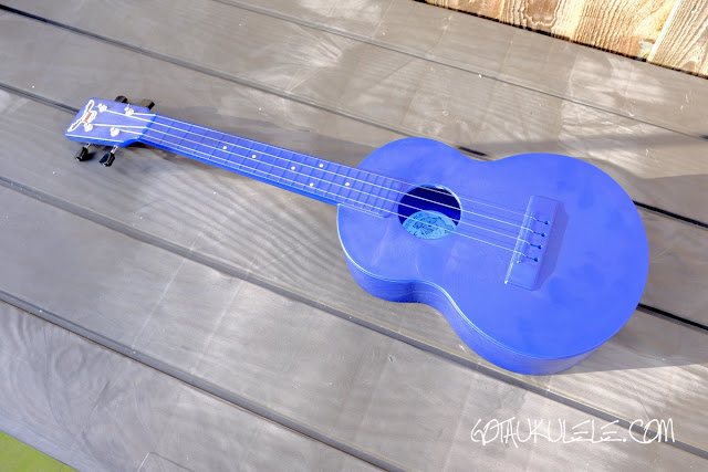 Outdoor Nickel Tenor Ukulele
