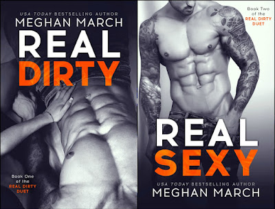Cover Reveal: Real Dirty Duet by Meghan March