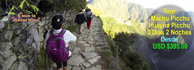 Huayna picchu y Machu Picchu