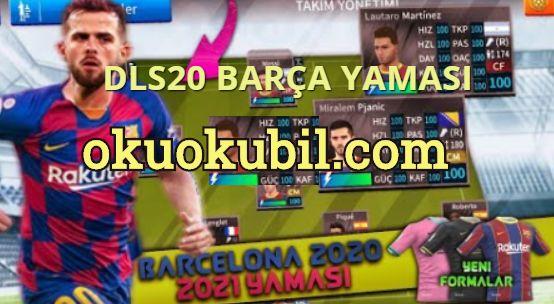 DLS 2020-21 Barcelona Güncel Yama Ve Kadro Hileli Pjanic,Messi,Roberto İndir