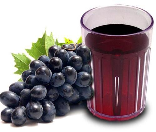 Suco de uva para gravidez