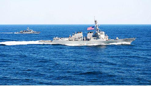 world, china, china news, usa, usa news, warship, beigjing, artificial island, uss lassen, passed,