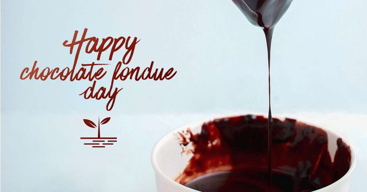 National Chocolate Fondue Day Wishes Awesome Images, Pictures, Photos, Wallpapers