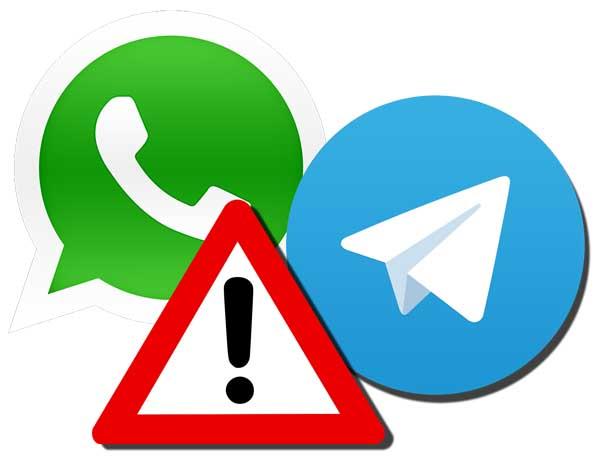 Secuestrar cuentas de WhatsApp o Telegram aprovechando un