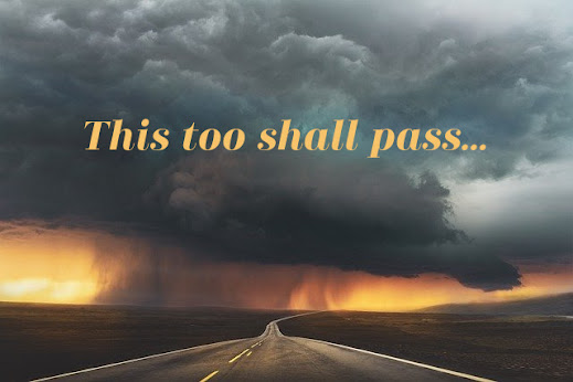 "Meme that says, ""This Too Shall Pass"""
