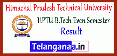 Himachal Pradesh Technical University B.Tech 2nd 4th 6th 8th Semester Result
