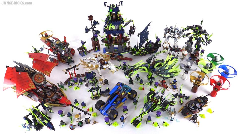 Lego Ninjago Summer 2015 Collection All Sets Together