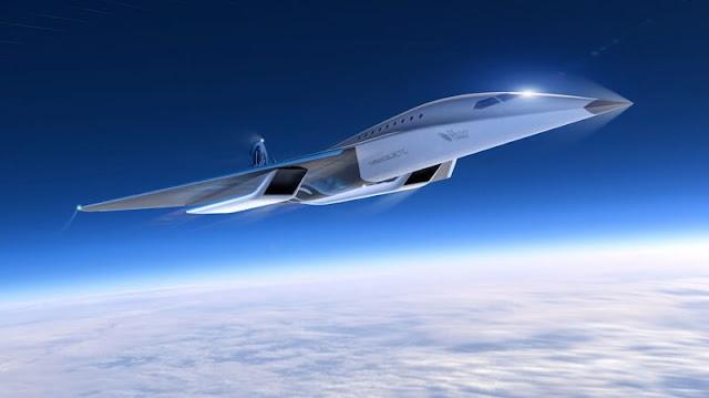 virgin galactic future fast plane