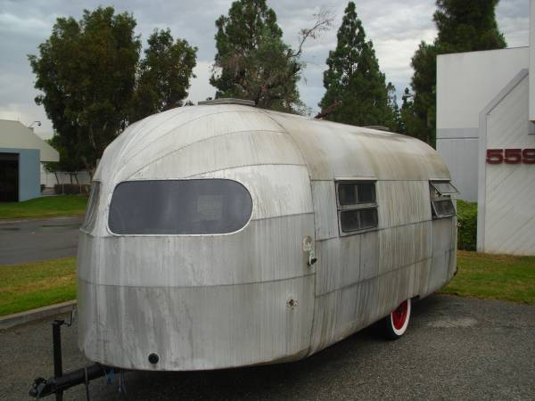 Used Rvs 1949 Curtis Wright Vintage Rv Trailer For Sale By
