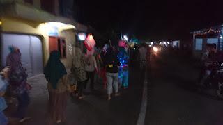 Takbir Keliling Menyambut Lebaran di Kampung KB Gumulan
