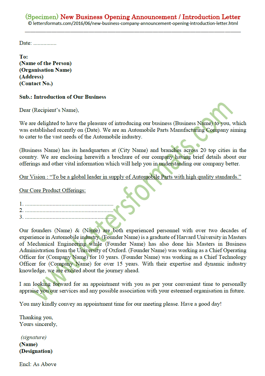 Sample Business Introduction Letter Introducing Company from 1.bp.blogspot.com