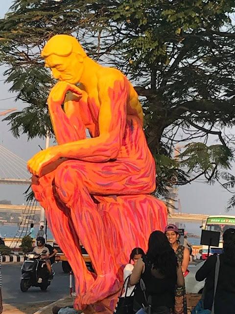 A Carnival statue in Panjim