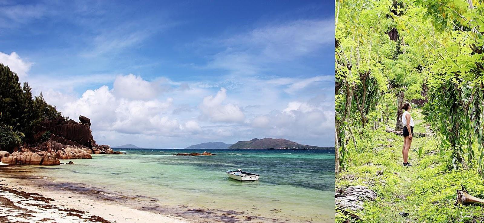 Insel Curieuse und Vanilleplantage auf La Digue