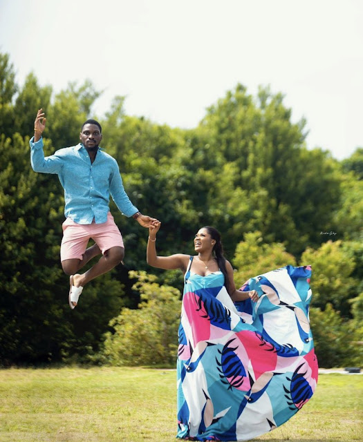 BBNaija star, Tobi Bakare set to marry as he releases Pre-wedding Photos