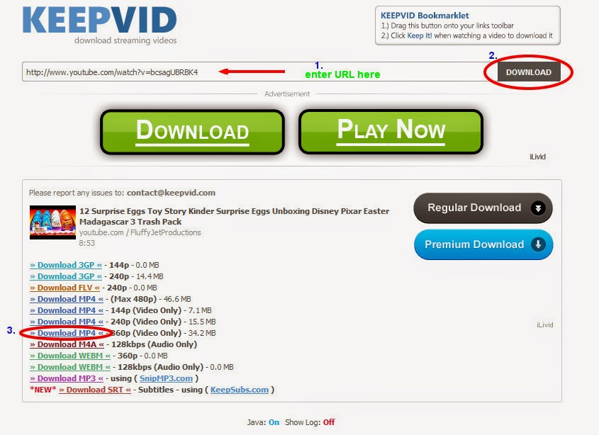 Keepvid java android download