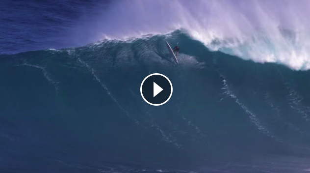 Ian Walsh BEST BIG WAVE SURFED at Pe ahi