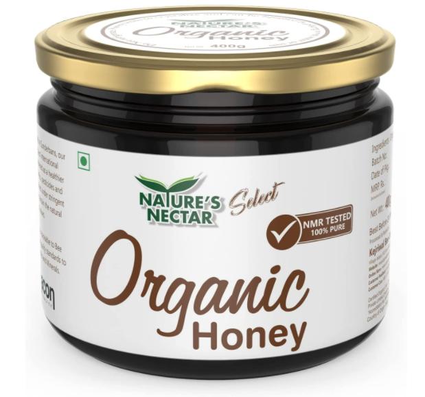 Nature's Nectar Raw Organic Honey | NMR Tested | Best Organic Honey |100% Pure Honey | 400gm