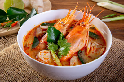Resep Tom Yam Seafood Thailand 1