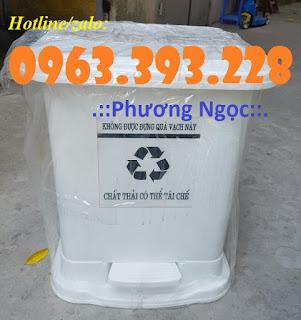 Thùng rác y tế, thùng đựng rác y tế đạp chân, thùng rác đạp chân 476b588455eab3b4eafb