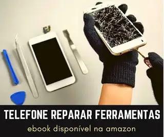 nomes das ferramentas de reparação de telemóveis