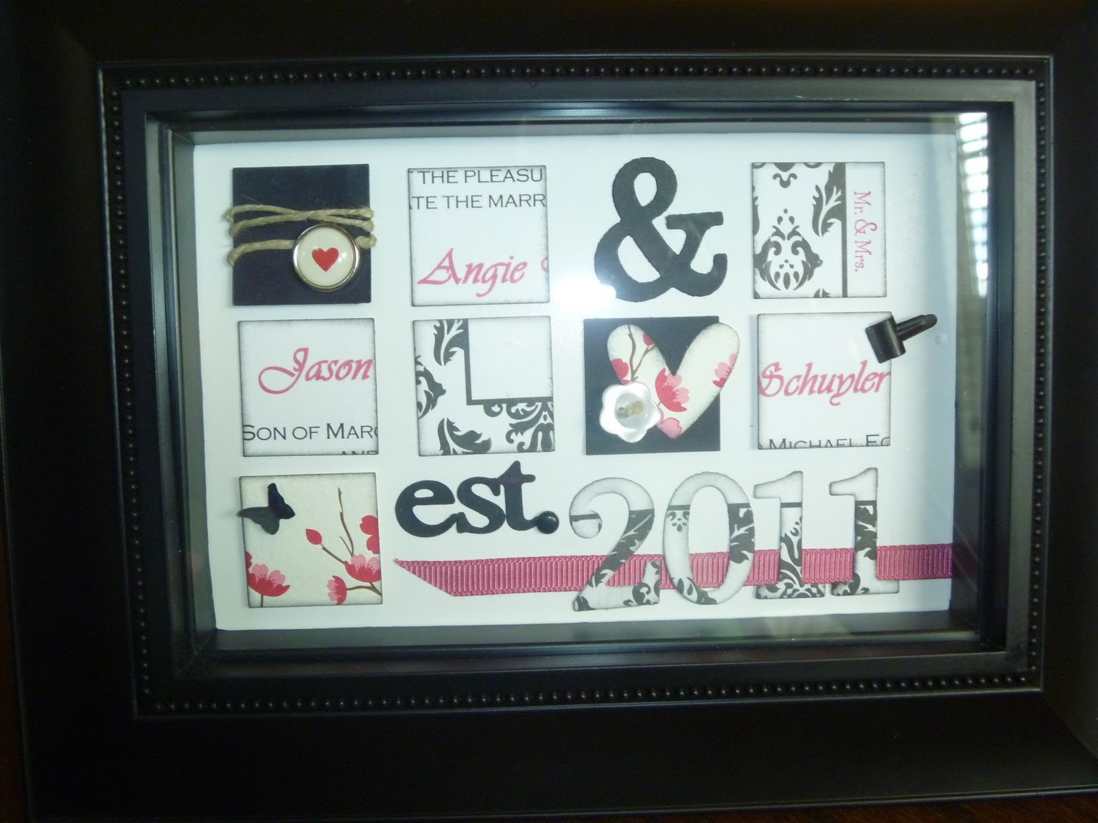 Wedding Gifts Homemade: Finding My Stamp: A Homemade Wedding Gift