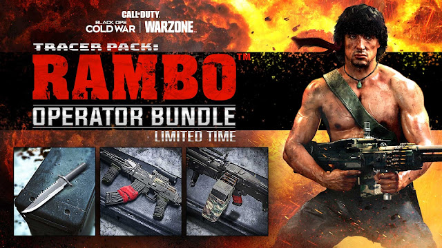 Call of Duty: Warzone and Black Ops Cold War - New Operators Rambo and John McClane