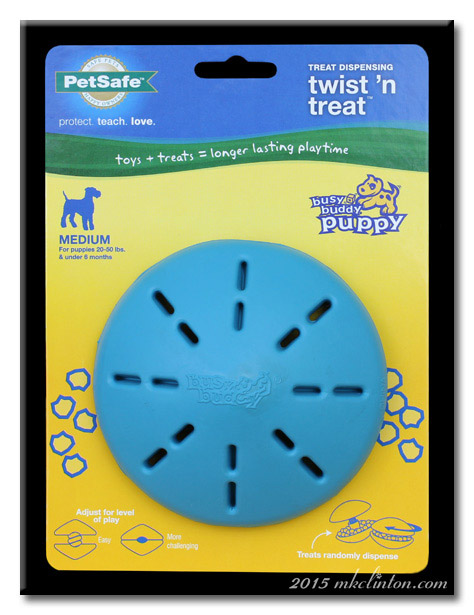 PetSafe Twist 'n Treat dispenser in package