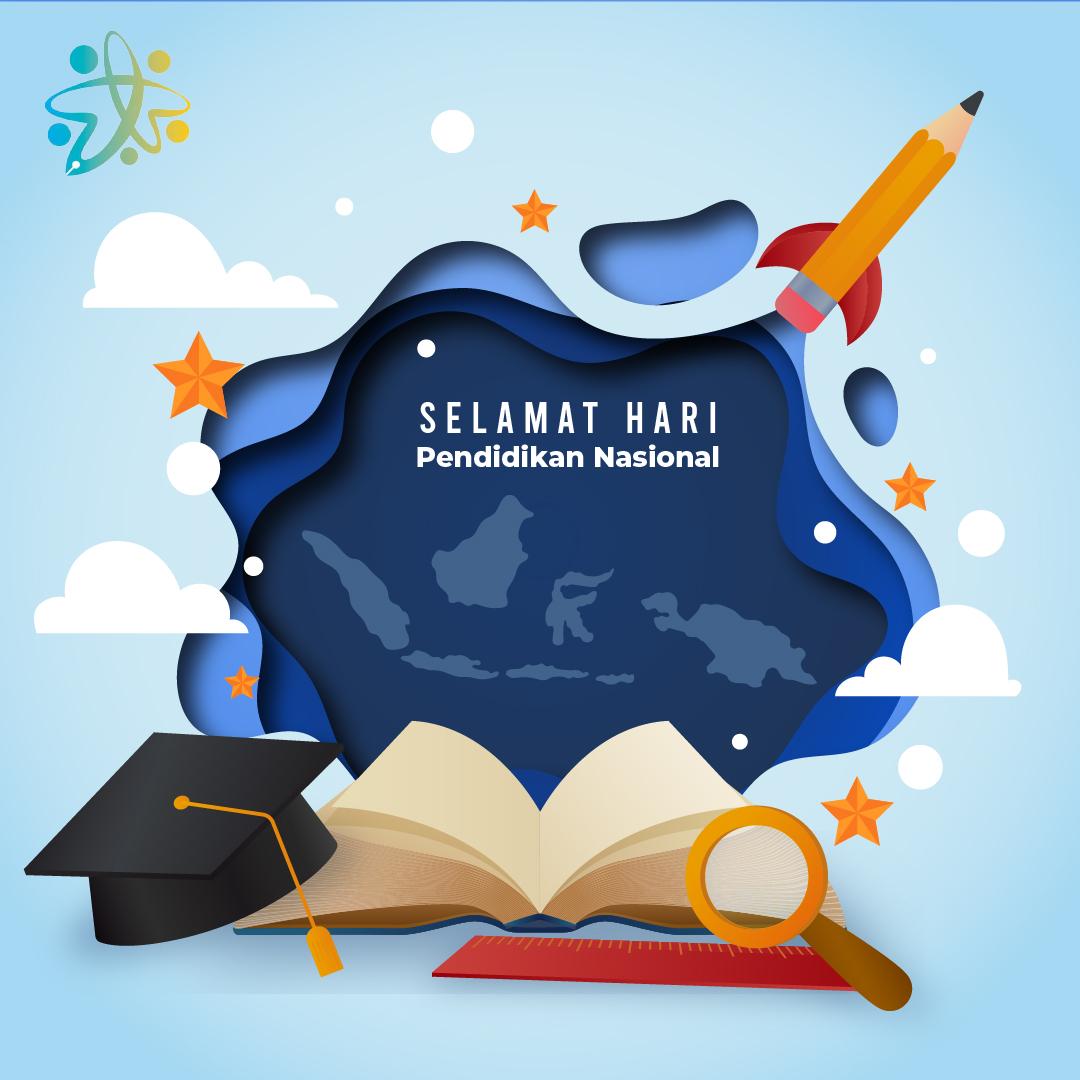 Gambar Ucapan Selamat Hari Pendidikan Nasional (HARDIKNAS) 2021
