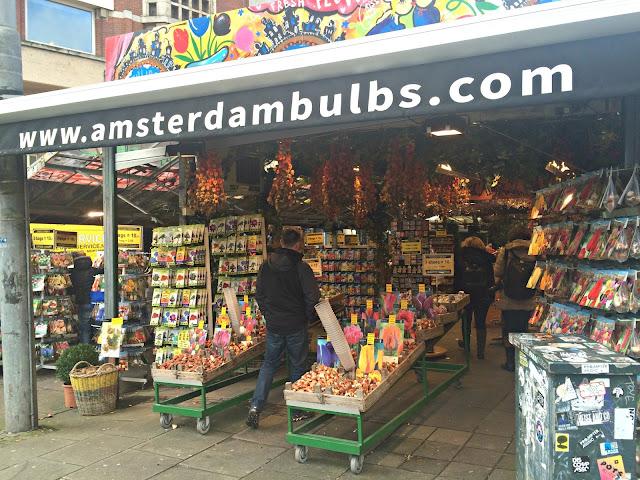 Amsterdam Floating Flower Market Bloemenmarkt