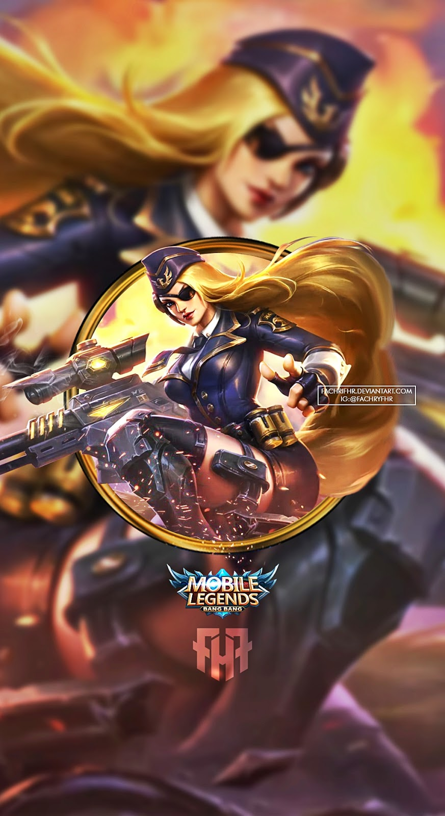Delightful Lesley Sniper Lesley Mobile Legend Wallpaper Hd Enam Wallpaper