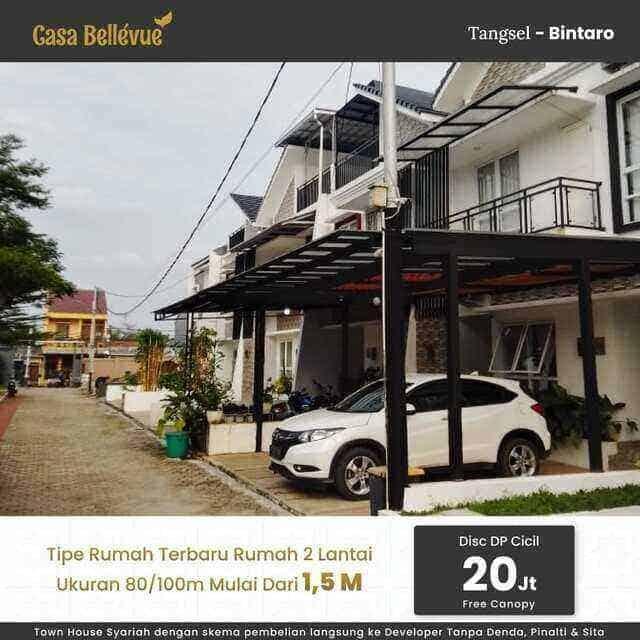 Cassa Bellevue Residence, Town House Syariah di Kawasan Bintaro