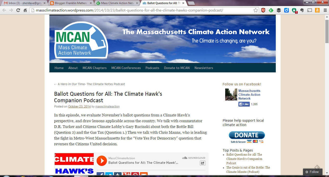 Mass Climate Action Network