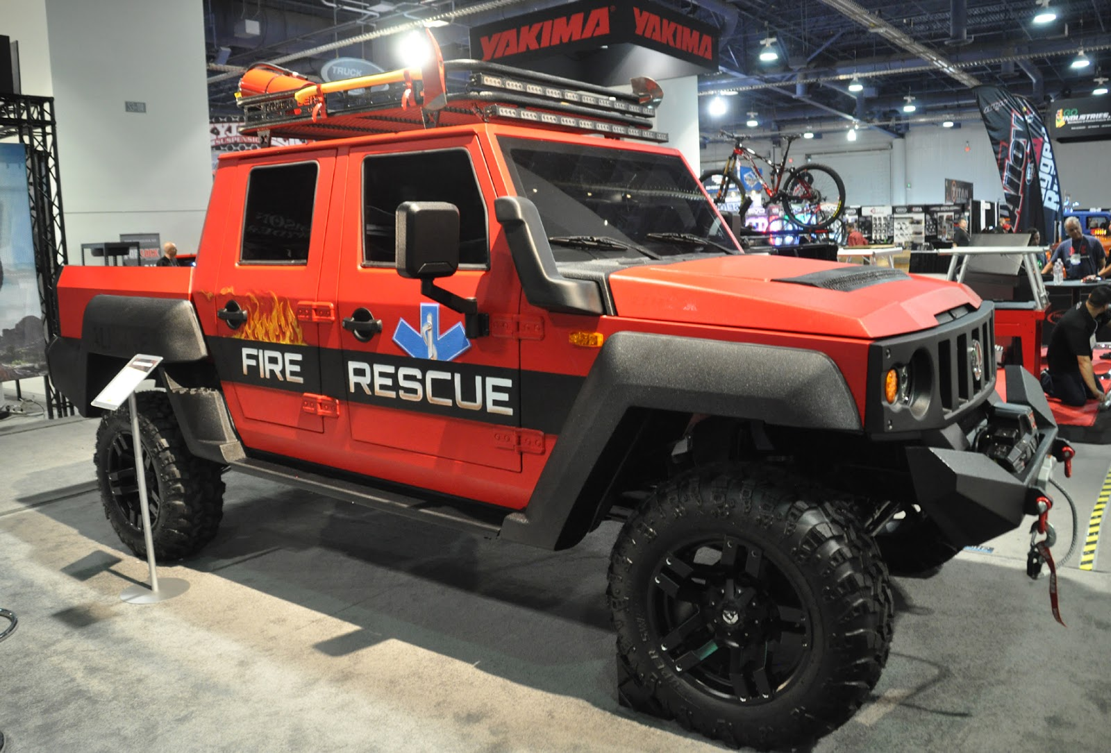 Just A Car Guy: This Search And Rescue Vehicle Is Covered