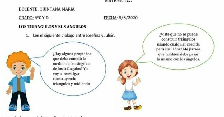 Aula 2020 Sexto ACTIVIDADES DE MATEM U00c1TICA