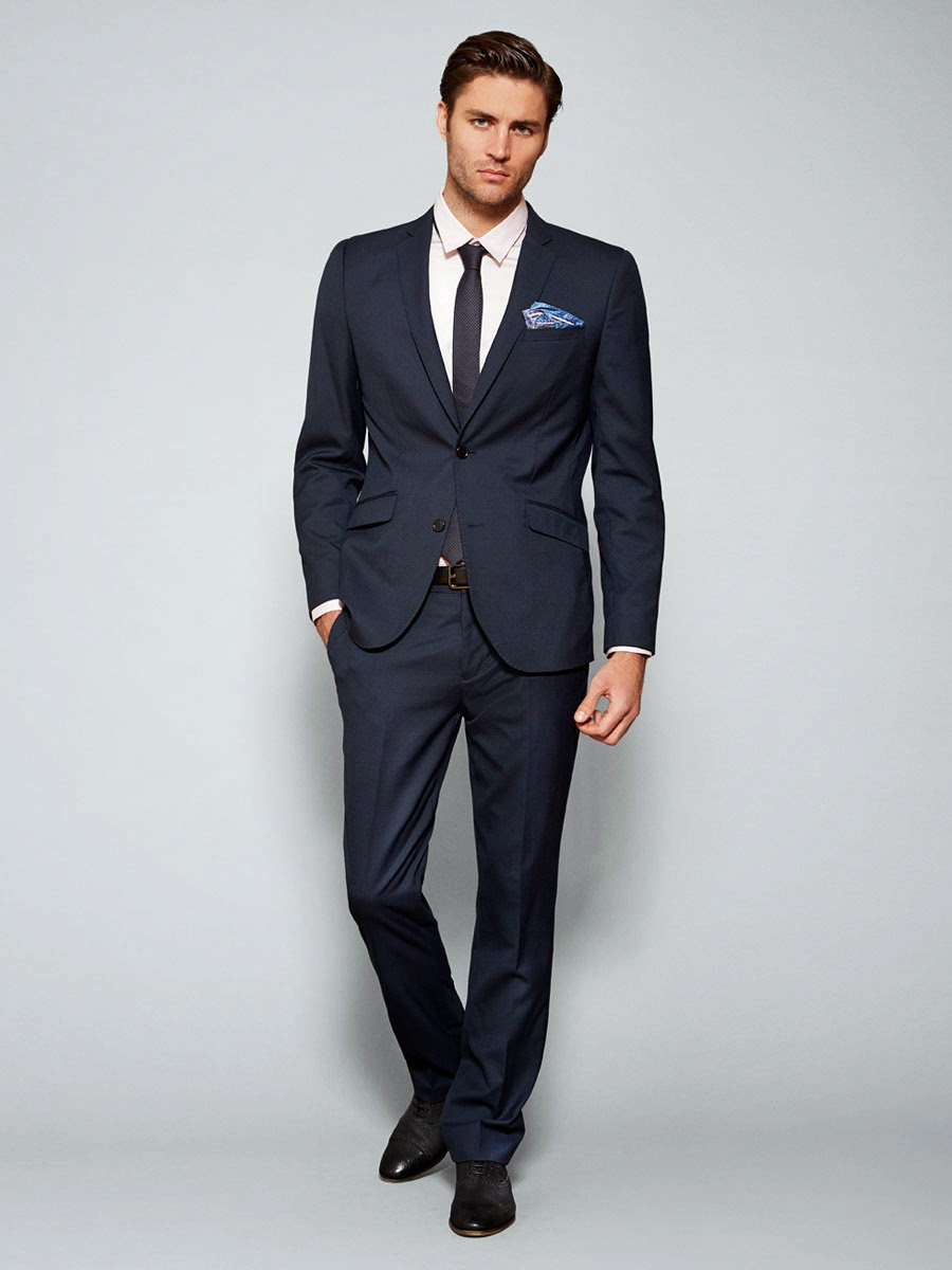 geeks fashion: Fitted Suit for the Fashion Forward Man
