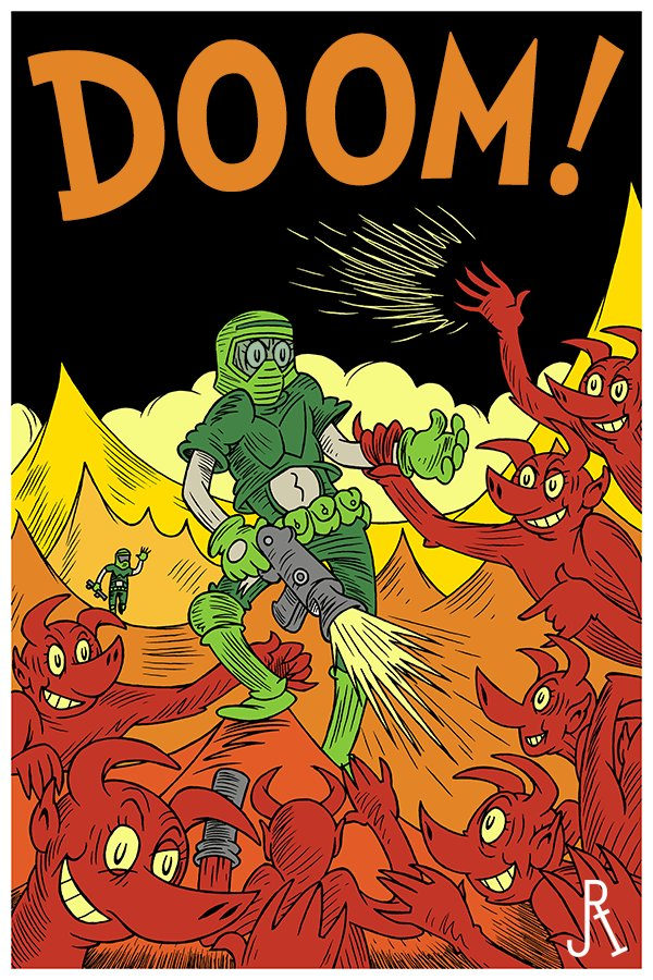 DOOM por Dr. Seuss